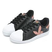 PLAYBOY 簡約兔頭休閒貝殼鞋2.0-黑玫瑰金(Y6726)