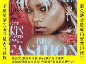 二手書博民逛書店【黎漢娜專區】Harper s罕見BAZAAR US 2017年3月號 時尚雜誌 Rihanna 蕾哈娜Y23