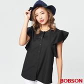 BOBSON 女款荷葉袖上衣   (28112-88)