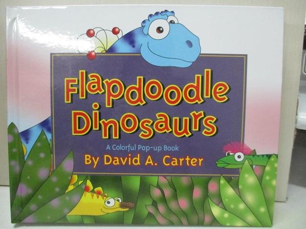 【書寶二手書T1/原文小說_KKE】Flapdoodle Dinosaurs: A Colorful Pop-Up Book