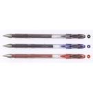 《享亮商城》UM-120 黑色 0.5亮彩鋼珠筆  三菱