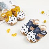 夏天0-1-2歲女童軟底防滑6-12個月嬰兒學步涼鞋 sxx1355 【衣好月圓】