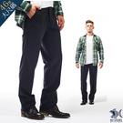 【NST Jeans】大尺碼 人間好時節 鐵灰_斜口袋休閒長褲(中腰) 390(3250)