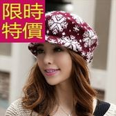 毛帽-羊毛明星同款針織韓流禦寒女帽子5色63w14[巴黎精品]