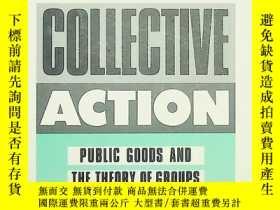 二手書博民逛書店the罕見logic of collective actionY185671 olson harvard 出
