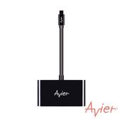 Avier Mini DP 對HDMI+VGA轉接器 MDHV100