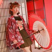 春秋古風和服外套日系開衫日式學生外衣2018新款春季