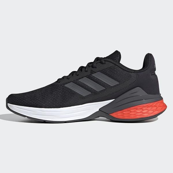 ADIDAS RESPONSE SR 男鞋 慢跑 休閒 避震 透氣 黑 白 紅【運動世界】FX3629