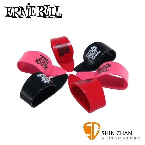 【缺貨】ERNIE BALL 9216 拇指套 彈片 PICK 尺寸:L (厚度:0.75mm) 六片一組 隨機出貨 不挑色【THUMB】