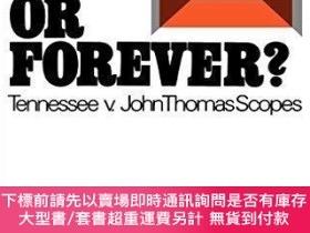 二手書博民逛書店Six罕見Days or Forever?: Tennessee v. John Thomas Scopes (G
