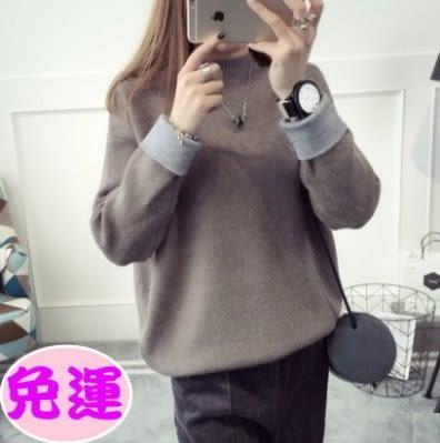 女裝上衣純棉時尚長袖冬季毛衣200w6【Brag Na義式精品】