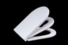 【麗室衛浴】國產外銷子母式包覆型美耐皿馬桶蓋 抗菌 緩降歐規   A-485-4