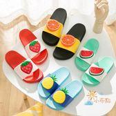 正韓拖鞋女夏天家居室內防滑涼拖鞋可愛情侶軟底浴室家用兒童拖鞋