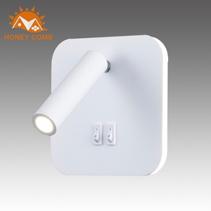 【Honey Comb】小燈管壁燈-方底白色(LB-31994)