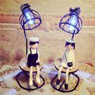 家居裝飾鐵藝擺件可可王國小夜燈男生女生情人節情侶生日禮物·樂享生活館