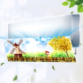 冷氣擋風板 空調擋風板罩遮風導風板空調盾防直吹月子美的格力風口擋板擋冷氣