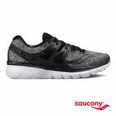 SAUCONY TRIUMPH ISO 3 LR 緩衝避震專業訓練鞋款-黑x麻灰