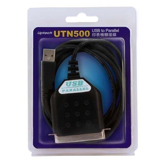 UTN500 USB to Parallel印表機轉接線