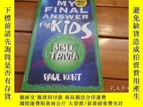 二手書博民逛書店MY罕見FINAL ANSWER FOR KIDSY19865