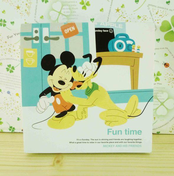 【震撼精品百貨】Micky Mouse_米奇/米妮 ~便條本/筆記本-米奇與布魯托圖案