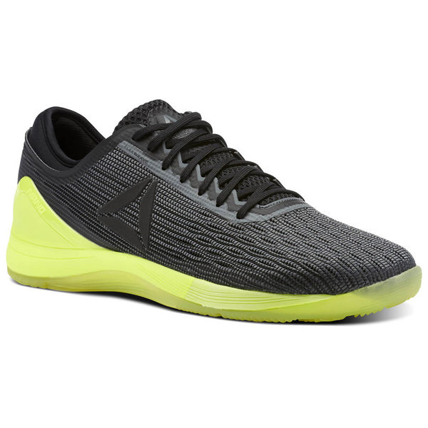REEBOK CROSSFIT NANO 8 FLEXWEAVE 男鞋 訓練 健身 透氣 黑 黃【運動世界】CN1034