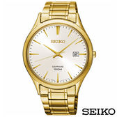 SEIKO精工  時光領袖藍寶石鏡面石英腕錶 SGEH72P1
