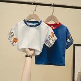 男寶寶短袖兒童T恤夏季2020新款中小童半袖上衣夏裝韓版洋氣童裝 歐歐