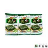 【韓國HUMANWELL】橄欖油烤海苔片(一組9小包)