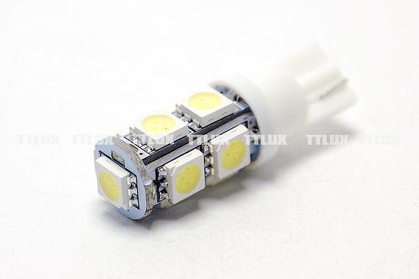 竣桀國際 T10 9SMD 小燈 小炸彈 9晶 LED FIT 馬3 馬6 RS CUXI RACING 雷霆