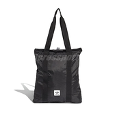 adidas 托特包 Packable Tote 黑 白 男女款 購物袋 可收納 【ACS】 ED8011