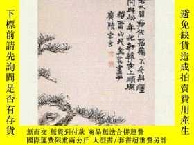 二手書博民逛書店Chinese罕見Paintings Of The Middle Qing DynastyY364682 Ju