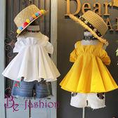 夏裝新品 女童小性感 木耳滾邊裝飾 棉吊帶 衫背心 上衣 Fashion Baby