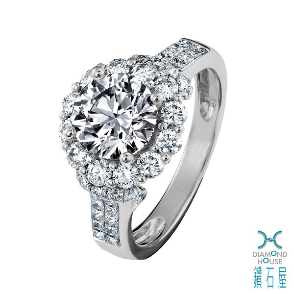 【鑽石屋】1.55克拉鑽石戒指