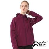 【PolarStar】女 Soft Shell保暖外套『紫』P20210 休閒 戶外 登山 吸濕排汗 冬季 保暖 禦寒