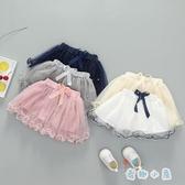 女童紗裙半身裙 可愛蓬蓬短裙公主裙【奇趣小屋】