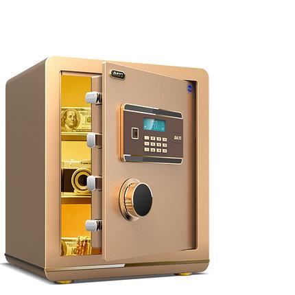 保險櫃小型 保險箱45cm 家用防盜全鋼珠寶櫃 保險柜辦公電子密碼 【館長推薦】 快速出貨