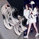 運動鞋 鞋子網紅運動小白鞋春季韓版百搭學生老爹潮鞋