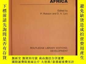 二手書博民逛書店The罕見Economies of Africa (RLE: D