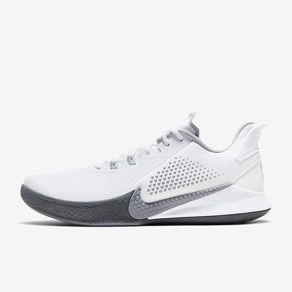 R -CLASSICK- NIKE Mamba Fury Ep 李小龍 全白色 白灰色 KOBE 籃球鞋 運動鞋 男 CK2088-100