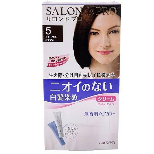 DARIYA 塔利雅 沙龍級染髮劑-無味型白髮染 (自然褐5)【七三七香水精品坊】