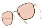 OLIVER PEOPLES 太陽眼鏡 ALLAND 5035P0 (珍珠金-粉鏡片) 復古女伶款 墨鏡 # 金橘眼鏡