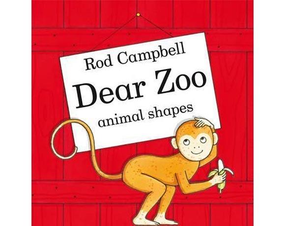 Dear Zoo Animal Shapes 可愛動物園動物形狀造型書