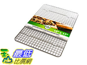 [105美國直購] 散熱架 Heavy Duty Stainless Steel Baking Rack Cooling Rack 12x17inches Fits Half Sheet B00XZ81GBQ