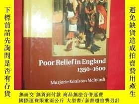 二手書博民逛書店Poor罕見Relief in England, 1350-16