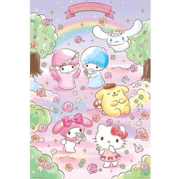 【P2拼圖】三麗鷗 Sanrio Characters 系列 - 夢幻花園 (1000pcs) HP01000-142