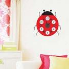 時鐘壁貼 小瓢蟲 教室裝潢佈置 牆貼壁紙貼紙【YV0008】BO雜貨