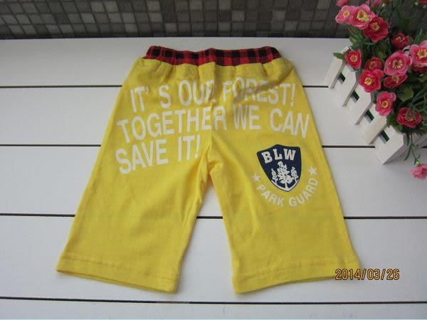 ◎愛寳貝◎出清售完為止超優質日單熱銷甲蟲款短褲(實品拍攝)黃色款