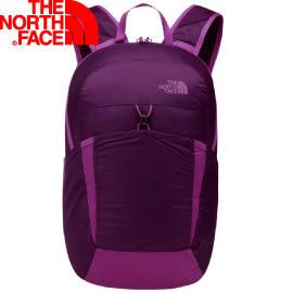 【The North Face 17L 輕量多功能背包 紫/粉桃紅】NF00CJ2Z/背包/輕量背包★滿額送