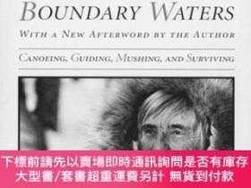 二手書博民逛書店Woman罕見Of The Boundary Waters: Canoeing, Guiding, Mushing