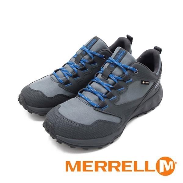 【南紡購物中心】MERRELL(男)ALTALIGHT APPROACH GORE-TEX郊山健行鞋 男鞋-灰藍(另有黑藍)